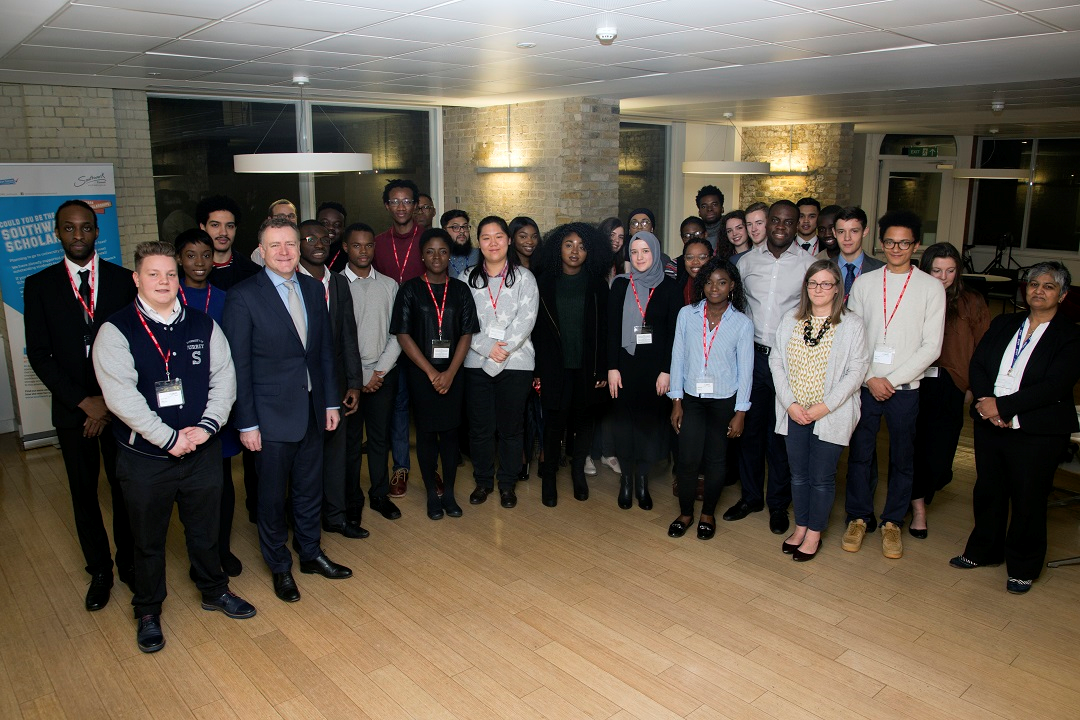 Southwark scholarship scheme group picture 2017