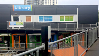 Newington Temporary Library