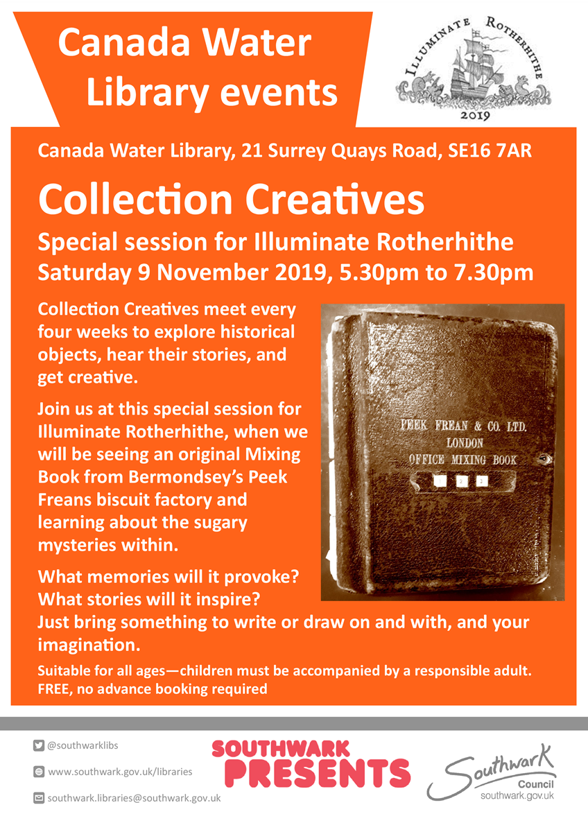article thumb - Collection creatives Illuminate Rotherhithe