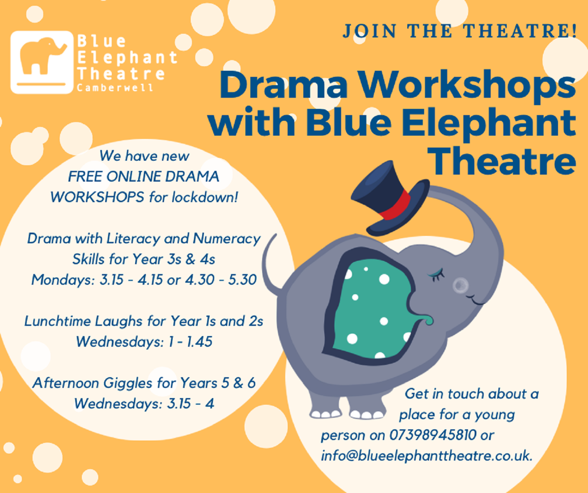 article thumb - Drama workshops at Blue Elephant Theatre