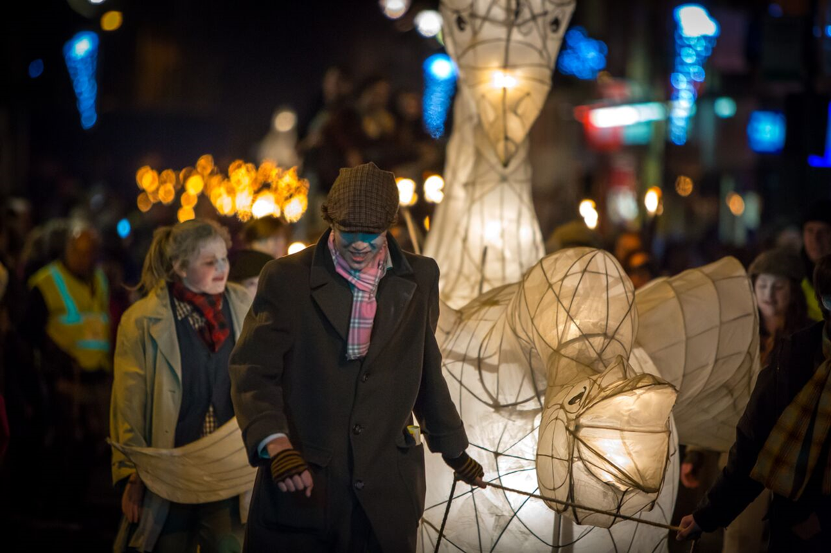 article thumb - Eden Arts lantern procession