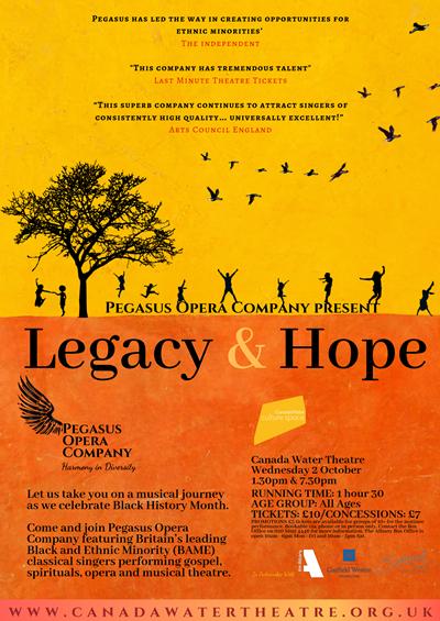 Pegasus Opera Company Legacy and Hope