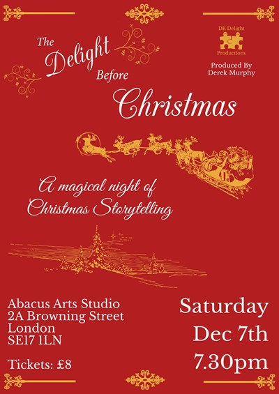 The Delight Before Christmas Poster