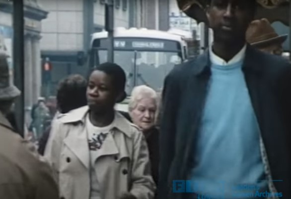 Screenshot from the film Not Our Problem
