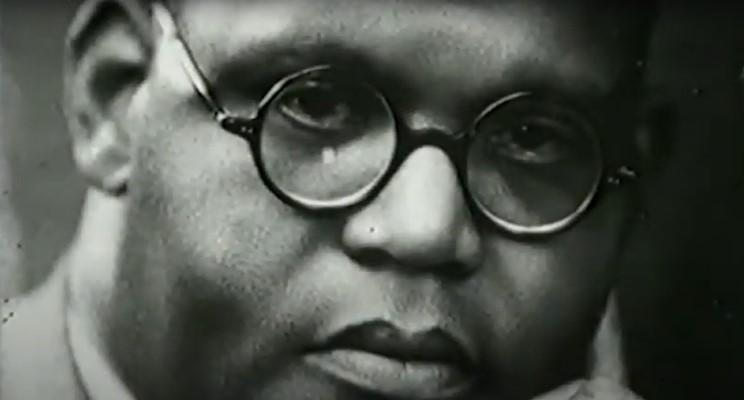 Screenshot from the film Harold Moody (Hidden History)