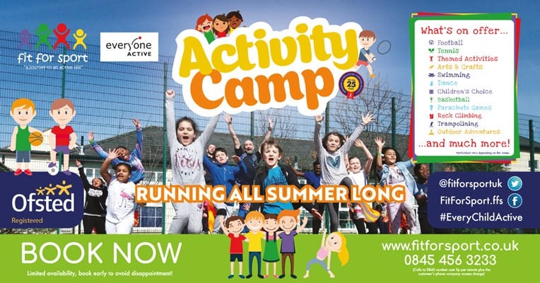 Fit For Sport Summer Activity Camps