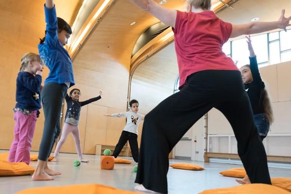 Children's Dance Classes at Siobhan Davies Studios