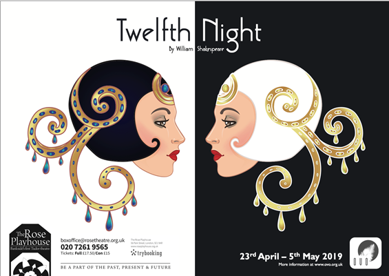 'Twelfth Night' at The Rose Playhouse 23 April - 5 May