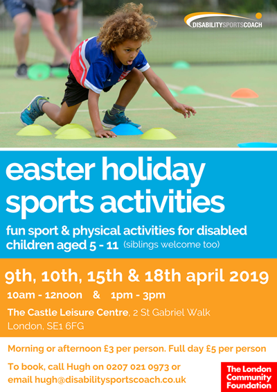 Easter Holiday Sports Activities