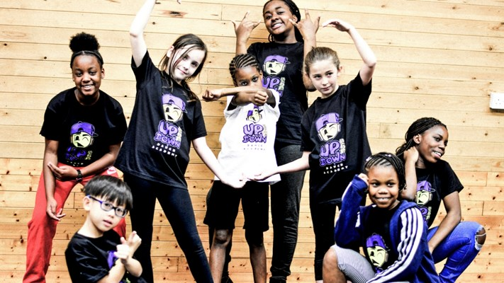 kids Hip Hop dance class @ Upside Down Dance Academy