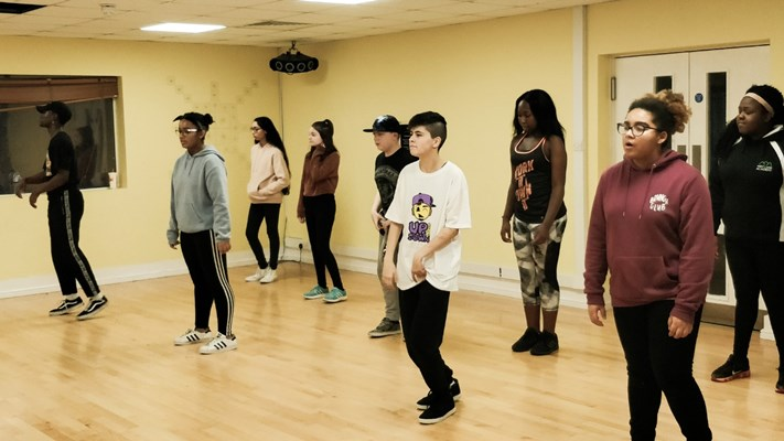 teens Hip Hop dance class @ Upside Down Dance Academy
