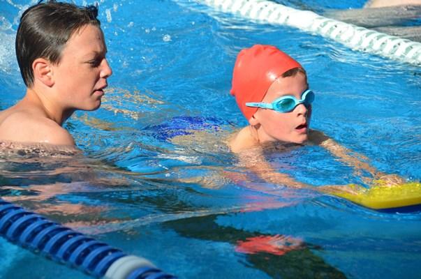 crash course swimming