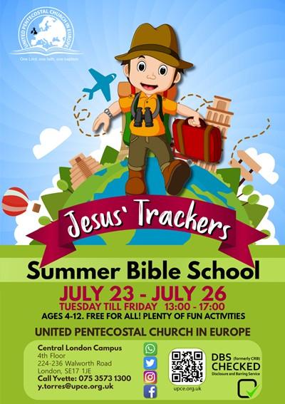 Jesus Trackers SBS