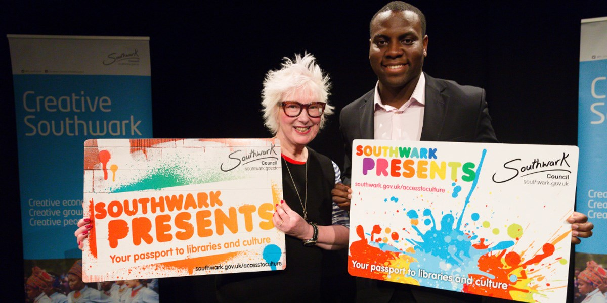 Southwark Presents Card launch