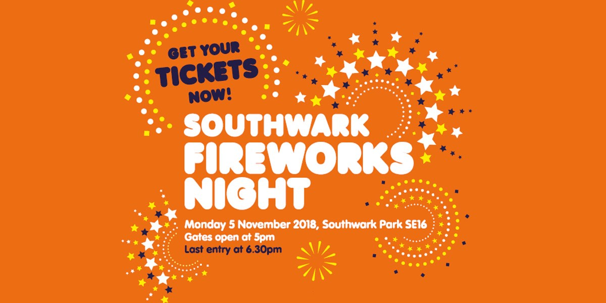 Southwark Fireworks Night 2018