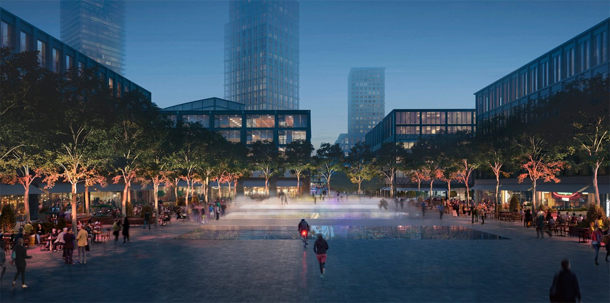 Canada Water masterplan - Town Square